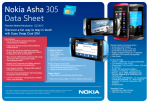 Nokia Asha 305 data sheet 04062012_at