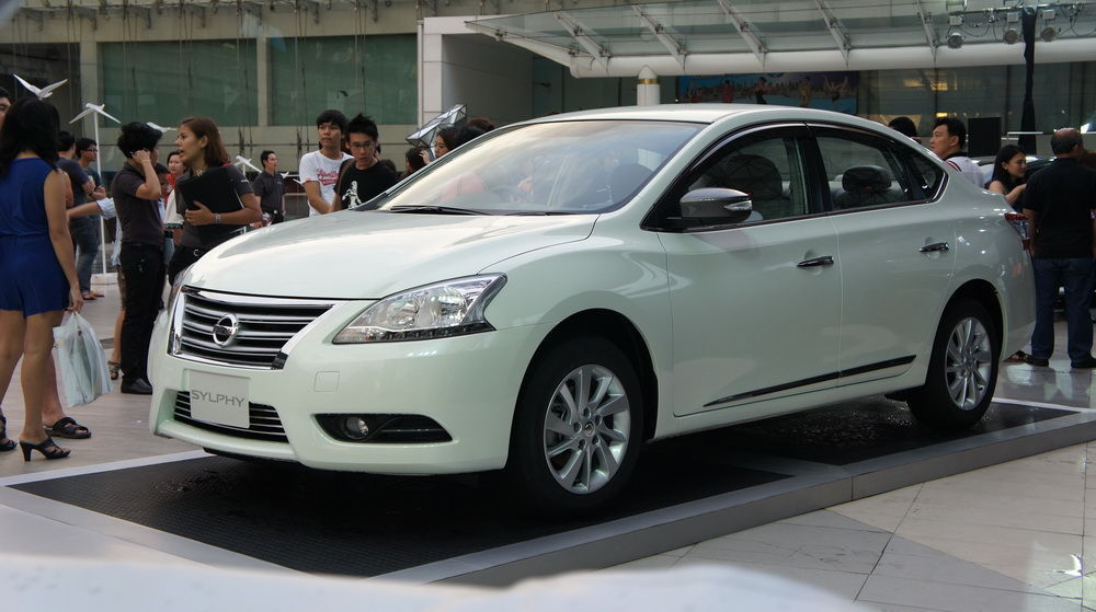 Nissan Sylphy Sv Bodykit Black Cabin For Thailand Autos Post