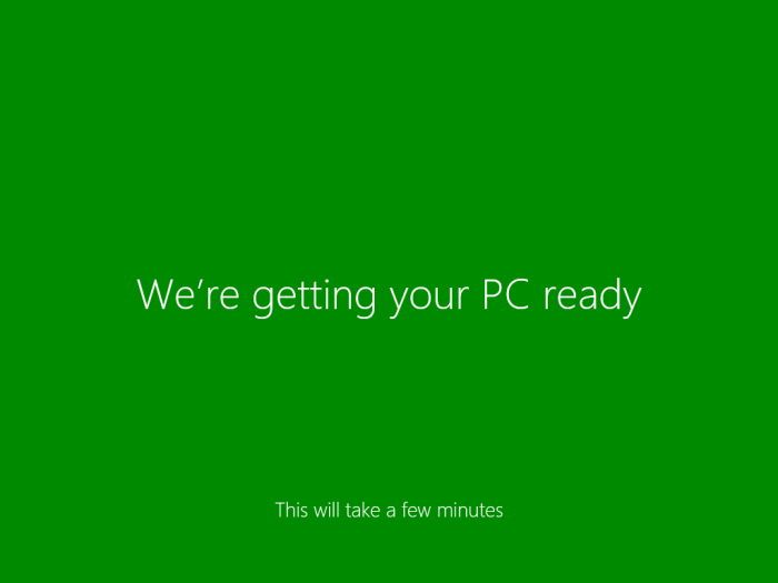 making windows 8 ready