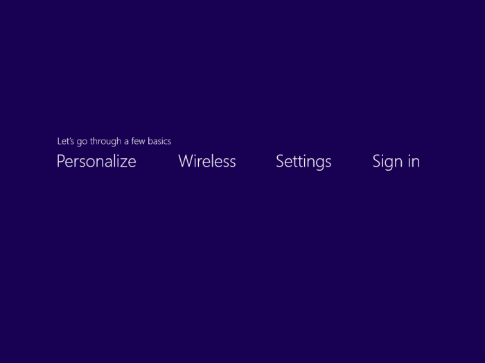 personalize windows 8