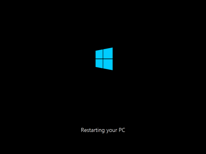 restarting your pc