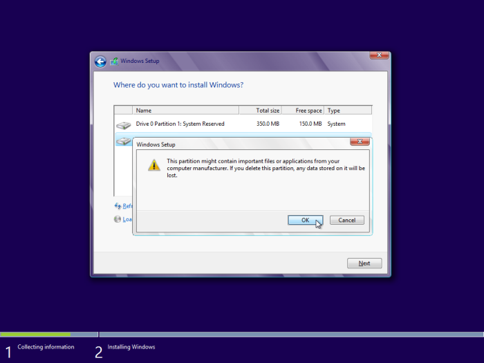 windows 8 installation delete partition (1)