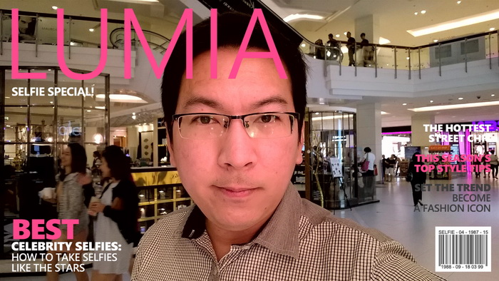 Taken with Lumia Selfie
